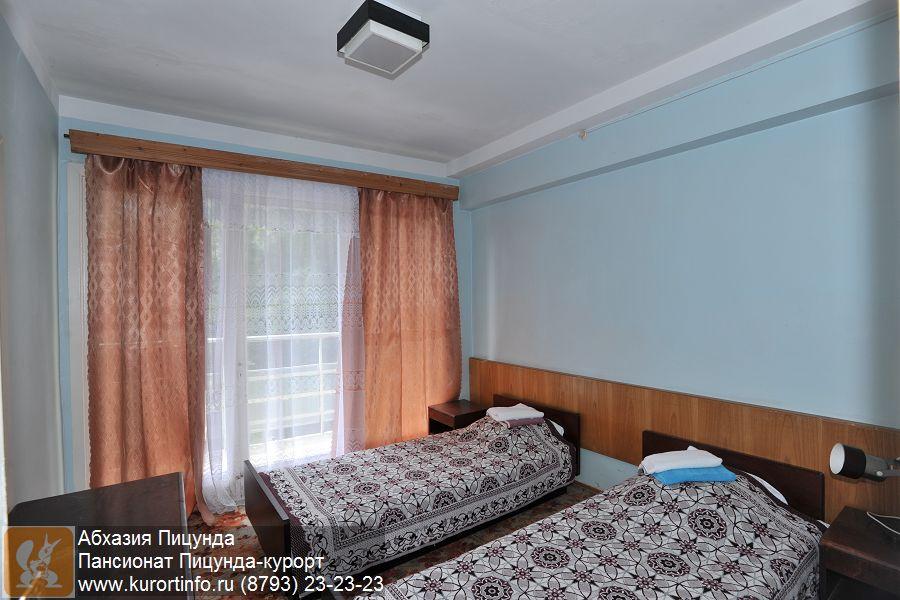 Отели Абхазии / Пицунда (Pitsunda) Рейтинг отелей и