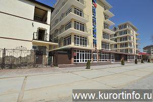 Витязево Пансионат Дельфин Константинополь фото гостиниц в Витязево.