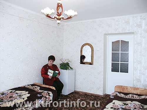 """Номерной фонд санатория  """"Пикет """" г. Кисловодск 2-местные 1-комнатные номера."""