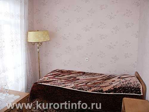 """Номерной фонд санатория  """"Пикет """" г. Кисловодск 1-местные 1-комнатные номера."""