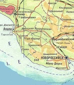 Карта крыма карта абхазии карта